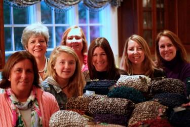 Cozmeena Charity Knitting