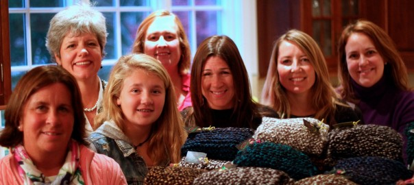 Cozmeena Charity Knitting