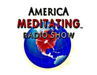 America Meditating Radio Show Logo